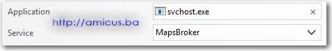 svchost MapsBroker