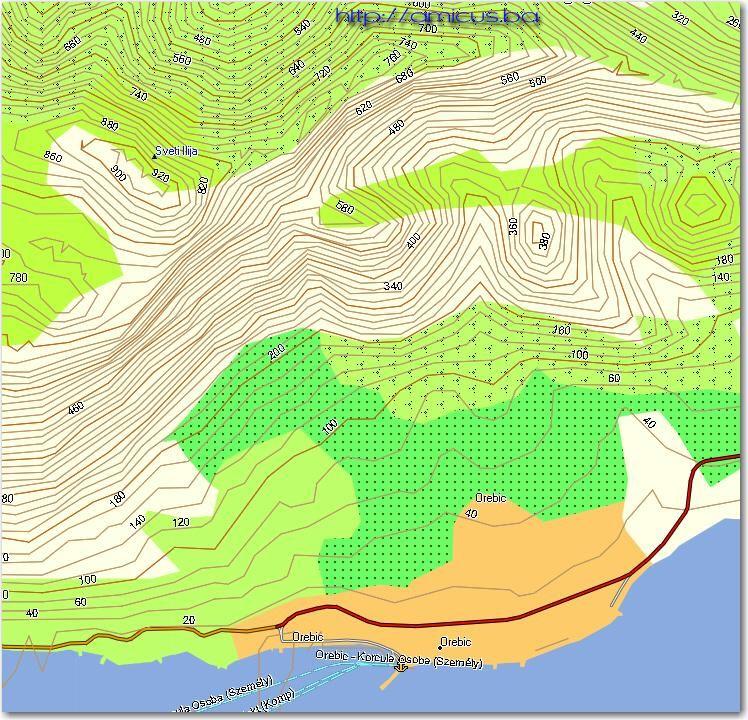 Topografska Karta Srbije Sa Nadmorskim Visinama Superjoden