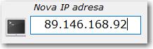Izmjena IP